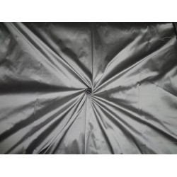 SILK TAFFETA FABRIC Iridescent Silver x Black Shot colour iridescent 54""
