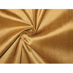 "SILK Dupioni FABRIC 44"" Shimmering Gold"