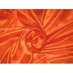 "Silk fabric[orange] ""Nina"" super thin silk"