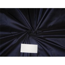 "100% SILK TAFFETA FABRIC DARK BLUE  54""TAF#88"