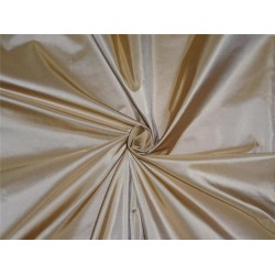 100% Silk Taffeta Fabric Marie gold Biscuit Color 54""
