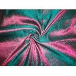 "Brocade fabric Greeny Pink X Metallic Gold 44""Cut Pcs 3.40yrd @ 64$"