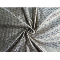 "Brocade fabric Grey,Cream X Metallic Gold 44""Cut Pcs 5.10yrd @ 86$"