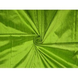 "100% pure silk dupioni fabric leafy green 54""wide-with slubs*"