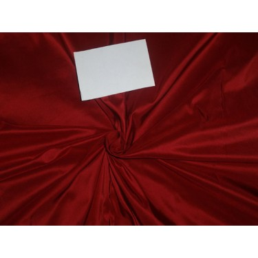 100% pure silk taffeta fabric red wine 54 inch wide-40 mm weight