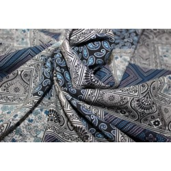 "40's x 40's tencel THE ENVIRONMENT FRIENDLY FABRIC 58"" wide- BLUE DIGITAL PRINT"