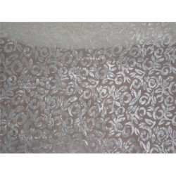 devore burnout Velvet fabric MIXBKA#B9[15]