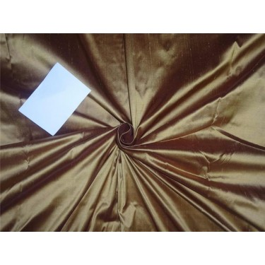"100% pure silk dupioni fabric gold x copper 54"" DUP97[2]"