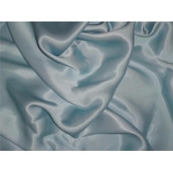 "27 momme silk reversible satin fabric pastel baby blue 44"" wide"