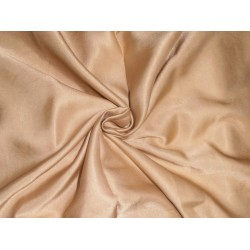 "33 momme silk  reversible satin fabric gold dust 44"" wide"