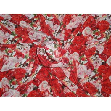 pure silk CDC crepe DIGITAL printed fabric 16 mm weight B2#101A[1]
