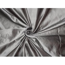 "53 MOMME SILK DUTCHESS SATIN GREY X BROWN  60""INCHES"