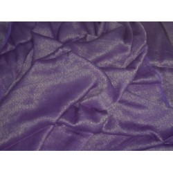 lavender Silk Georgette Fabric with Subtle Metallic Gold jacquardMIXBKA