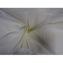 """100% cotton rubia voile pastel yellow color 44"""" B2#107[4]"""