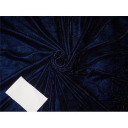 shimmer velvet fabric royal blue