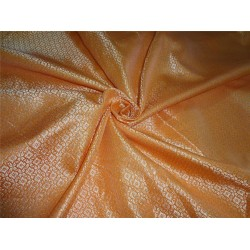"Brocade Bright orange x metallic Gold Color 44""BRO554[4]"