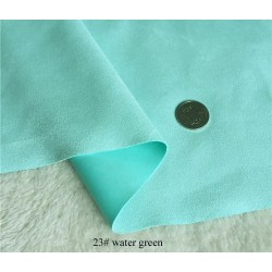 """Fashion Coat Jacket Material Polyester Lycra Spandex scuba fabric 59"""" wide-thick  water green"""