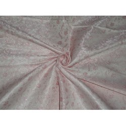 """Silk Brocade~Width 44""""~very pretty~Shades of Pink  colour"""