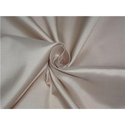 100% Silk Taffeta Fabric Golden Cream Color 60""