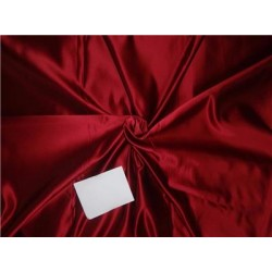 "Mary Ann"" Plain Silk 44"" Fabric Red Color 50grams silk"