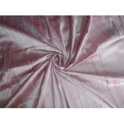 "100% PURE SILK DUPIONI FABRIC ROSETTE COLOR 44"" WITH SLUBS"