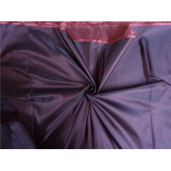 66 MOMME SILK DUTCHESS SATIN FABRIC RED X BLACK COLOR 60""