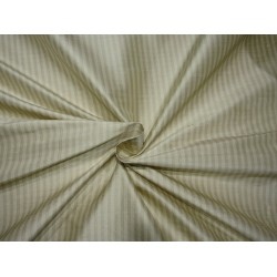 """100 % silk dupioni  fabric -green stripes 54"""" wide DUPS3[4] sold by the yard"""