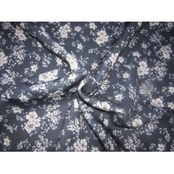 """Customized Digital Prints On Neoprene Fabric navy floral  58"""" WIDE by the yard"""