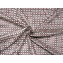 """Customized Digital Prints On Neoprene Fabric hounds tooth 58"""" WIDE by the yard"""
