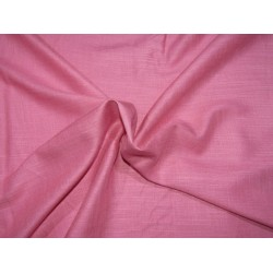"""Tencil THE ENVIRONMENT FRIENDLY FABRIC 44"""" wide- watermelon pink with slubs  by the yard"""