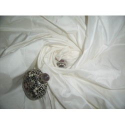 40 mm IVORY SILK TAFFETA fabric 54""