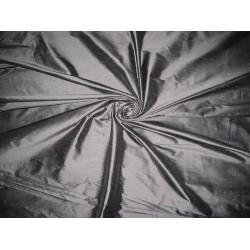 silk dupioni fabric  Dark Cloudy Grey colour