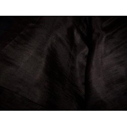 "Coffee brown ""Nina"" super thin silk fabric"