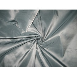 "SILK TAFFETA FABRIC 54"" ~russian steel grey TAF74"