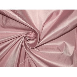 "SILK TAFFETA FABRIC 54"" ~Rose pink / blue shot"
