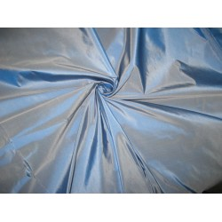 "Iceland blue Silk taffeta fabric 54"" wide sold by the yard"