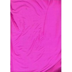 """Mary Ann"" plain silk fabric 44""~ rich pink"