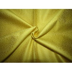 "Silk Brocade fabric yellow   BRO738[5]   44 "" wide  by the yard"