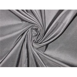 Pure SILK TAFFETA FABRIC greyish blue color TAF35