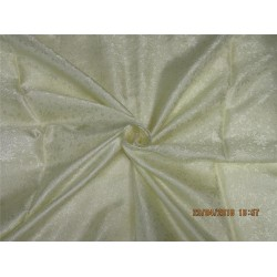 Silk brocade fabric cream color 44'' BRO580[3]