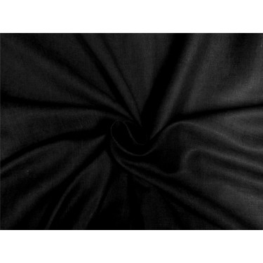silk linen fabric charcoal black color 54''wide
