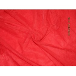 RED COLOR NYLON NET 120''PERFECT FOR USE IN COSTUMES