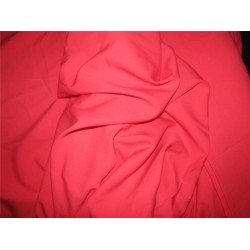 "Scuba Crepe Stretch Jersey Knit Dress fabric 58"" fashion tomato color B2 #85[6]"