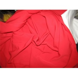 """Scuba Crepe Stretch Jersey Knit Dress fabric 58"""" fashion Red color B2 #85[5]"""