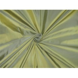 Pure Silk Taffeta Fabric Mintgreen x golden shot TAF#27[1]