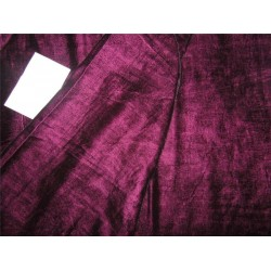 "iridescent micro velvet dark aubergine color 44"" wide"