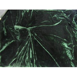 "iridescent micro velvet green color 44"" wide"