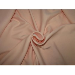 "Scuba Crepe Stretch Jersey Knit Dress fabric 58"" fashion nude color B2 #85[12]"