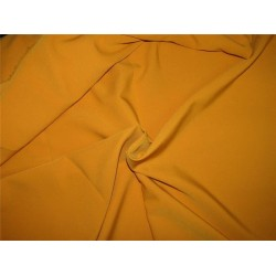 "Scuba Crepe Stretch Jersey Knit Dress fabric 58"" fashion mustard B2 #85[4]"