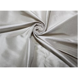 "100% pure silk dupioni fabric GREY l color 54"" DUP#263[2]"
